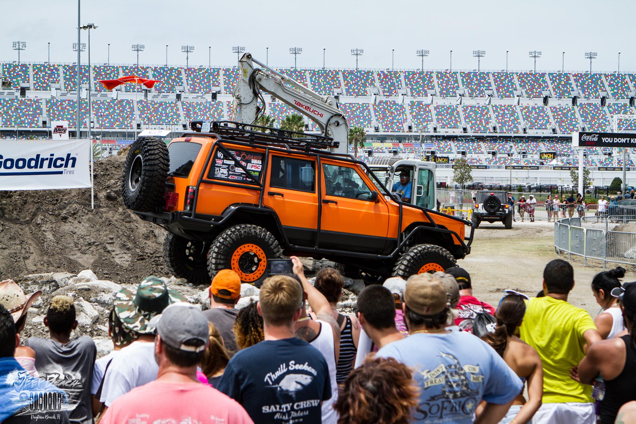 Daytona Jeep Beach